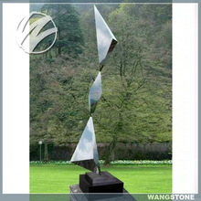 Abstract Modern Garden Stainless Steel Yard Sculptures