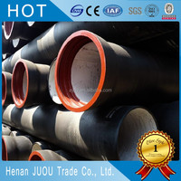 china supplier iso2531 c40 100mm k9 ductile iron pipe rates