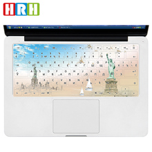 Russian/English TPU Keyboard Cover Protector For Macbook Air Pro Retina 13 15 17