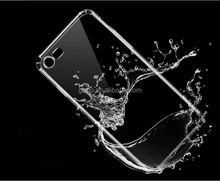 Soft TPU Crystal Transparent Back Phone Case for iphone X / 8 / 8 Plus / 7 / 7 Plus / 6 / 6S