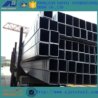 SHS Galvanized hollow section rectangular square steel pipe/tube