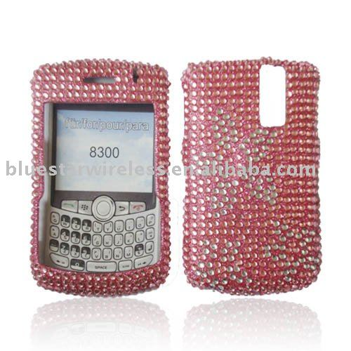 Mobile phone case for Blackberry 8300 with diamond case