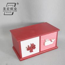 Decorative luxury storage antique small wooden drawer box