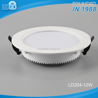 Zhongshan hot selling high efficiency fashionable high quality 12w / 18w concealed round led panel light