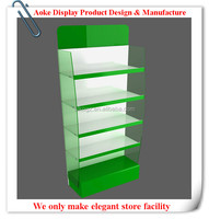 New Style Acrylic/Wood/Metal Mini Cosmetic Display Stand/Cabinet/Showcase Made In China