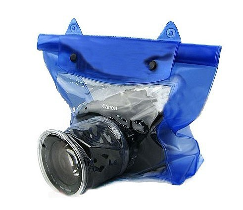 High quality PVC underwater waterproof dslr camera bag for diving,hiking