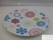 Hot sell made in china plastic cheap white dinnerware