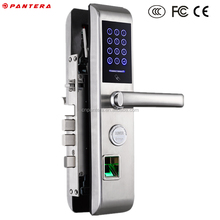 German Wireless Fingerprint QR Code Digital Biomoetric Combination Door Lock