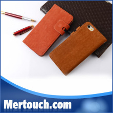 leather PU card holder cell phone for iPhone 6 wallet case