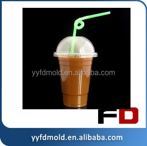clear plastic cup/ 6colors print disposable cup/ cheap plastic injection mould