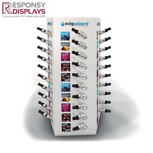 table top white acrylic stands electronic cigarette display rack