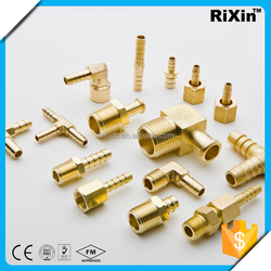 RX-1241 new arrive brass y hose barb manufacturer brass npt hose nipple joint nipple suppliers