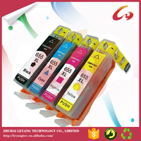 For hp 655 refill ink cartridge for hp 5525