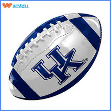 customised eco-friendly pvc material youth match/ training american football