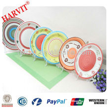 2014 Wholesale New Hot Sale Products Cheap Bulk Hand Made Painted 10.5 Ceramics Decorative Dinner Dishes & Plates for Restaurant