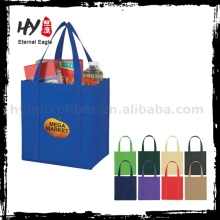 Logo printed factory supply folding nonwoven shopping bags