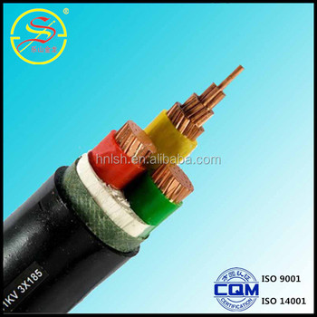 high quality China copper conductor PVC insulated and sheathing 3x400mm2 pvc power cable for construction