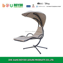 Outdoor Furniture General Use and Metal Material garden swing chairs
