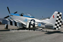 "Scare rc model P-51 Mustang 96"" 80-100CC F0071 airplane toy"