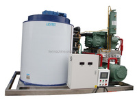 poultry slaughter house cooling equipment ,8000kg/24h flake ice machine for slaughter cooling