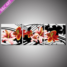 Exterior Wall Siding Panel Posters Modern Art Flower Picture Painting