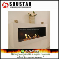 Hot New Design AF-BB-90, wall mount ethanol gas log fireplace