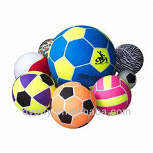 custom made logo printed Inflatable giant tennis balls 9.5""