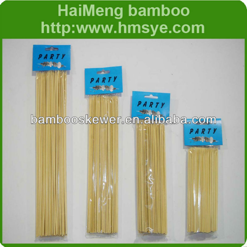 Bamboo Kabob Sticks BBQ Skewer - variety of size optional