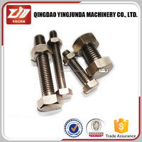 Standard Fasteners,Din931/933 High Tensile Hex Bolts,8.8 Grade Bolts And Nuts