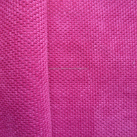 fashion polyester small checker ripstop crushed velvet upholstery fabric