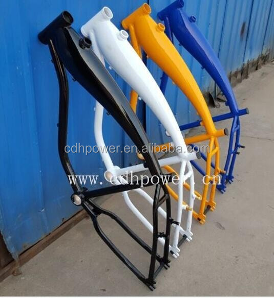 2.4L gas Frame/bike frame with built in gas tank