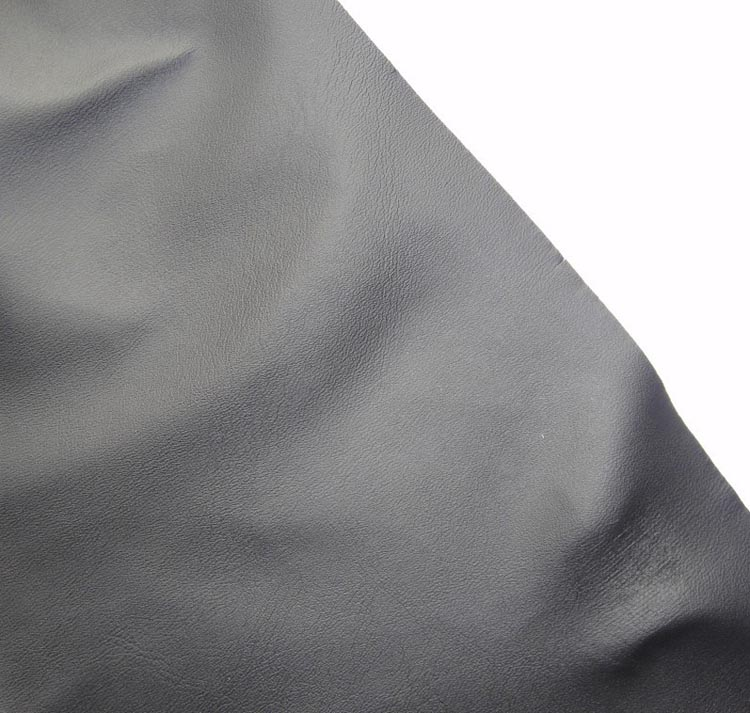 0.4MM Elastic synthetic PU <strong>leather</strong> for black apron <strong>leather</strong> material