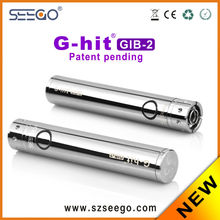 2014 new comming! best selling seego GIB-2 battery 510 wax burner