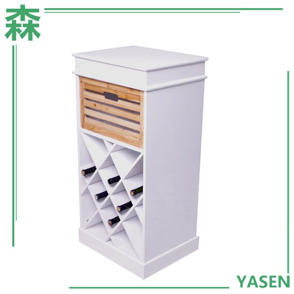Yasen Houseware Fashion Home Decor Wine Rack,New Coming Delicate Modular Wine Rack,Wood Wine Cube