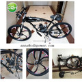 CDH Magnesium alloy bicycle wheel/26'' high quality wheel