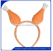 Event & Party Supplies Type Plush Turkey Drumstick Headband