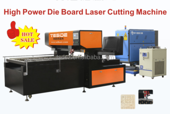 rotarty flat bed die board die laser cutting machine