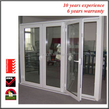 Interior & exterior lowes 3 panel folding frenchdoors with side panels