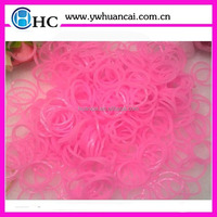Jelly Glow in the dark Rubber Bands refills, DIY loom Bands For your specail make