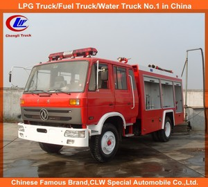 Low price 6000lts fire engine truck dongfeng fire truck foam water 6000Lites fire fighting truck