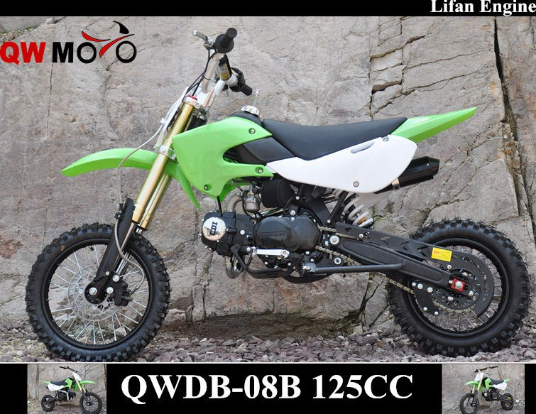 QWMOTO CE 125cc Lifan Engine Dirt Bike 125cc Lifan Pit Bike 125cc Lifan Motorbike for cheap sale