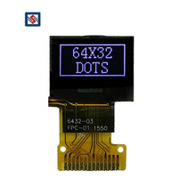 Custom Size Transparent Lcd Module Wholesale 0.49 Inch 64x32 Dots VA TN Graphic LCD Display