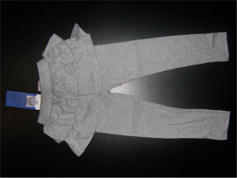 girls pants with skirt 100% cotton