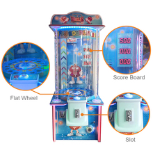 Easy Play Coin Operated Amusement Happy Bouncing Ball Lottery Redemption Game Ticket Machine For Sale