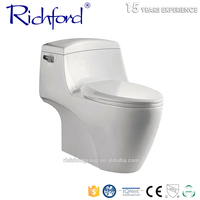 Best Quality Floor Mounted Installation Type and Ceramic Material Sanitary Bathroom One Piece WC Toilet