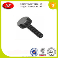 Factory custom high precision knurled anodized thumb screws