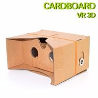 DIY Cardboard VR 3D Goggle Support Google with NFC