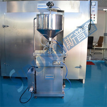 Vertical Pneumatic Bottle Liquid Filling Machine Price For Honey