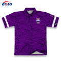 Wholesale factory direct price high quality lacrosse man polo t-shirt
