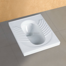 WC Toilet Pan Squatting Pan With Concealed Flushing Tank